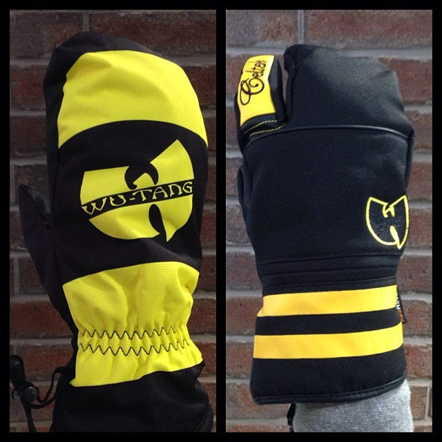 @wutangbrand x @celtek mitts in shop. come get em before they're gone! HYPE cream getsome