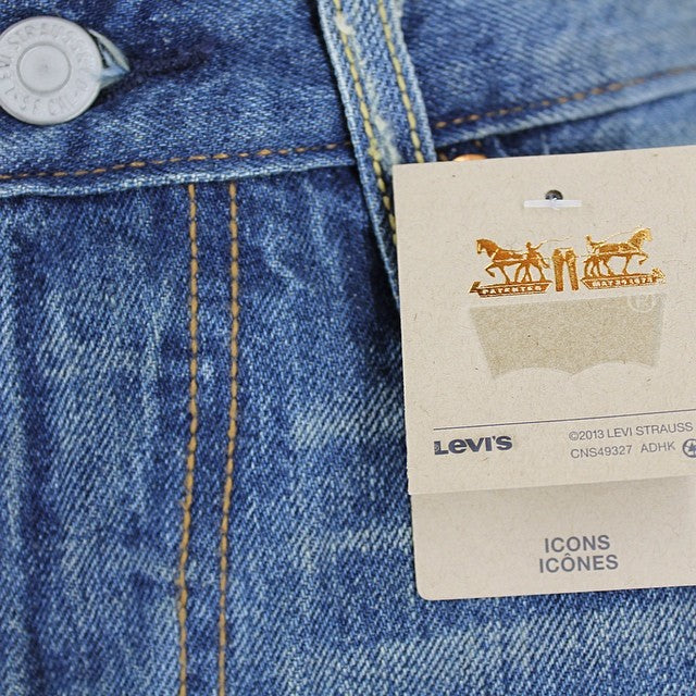 All new ladies denim has arrived from @levis, including high waisted jean shorts and skinny jeans  #treatyoself #levis #denim