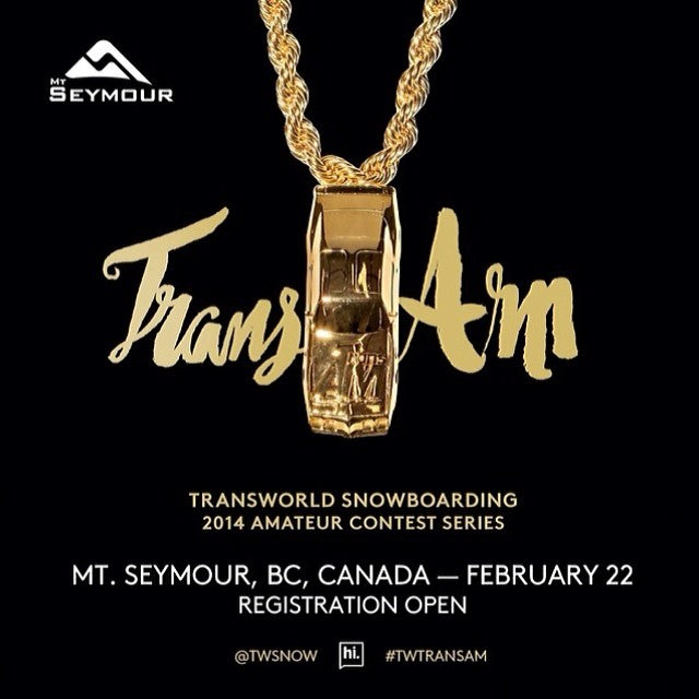 Don't forget. The good times at @mtseymour just don't stop. The first ever Canadian stop of the @twsnow TransAm is tomorrow in the pit park. Whether your competing or heckling from the peanutgallery, this is one you don't want to miss. TWTRANSAM