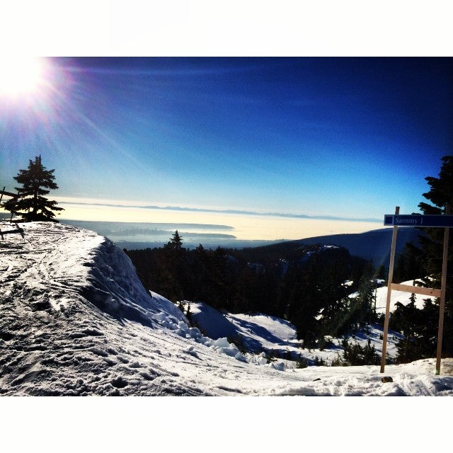 Above the clouds. @mtseymour