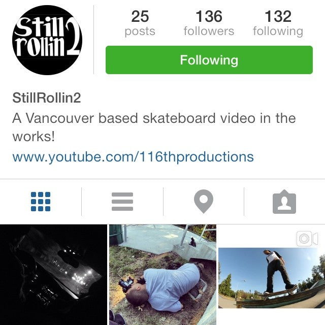 Do yourself a favor and follow @davidstevens new account @stillrollin2 for updates on his new project stillrollin2. It's going to be amazing! skatevideo filmerdave makeitgreen followit