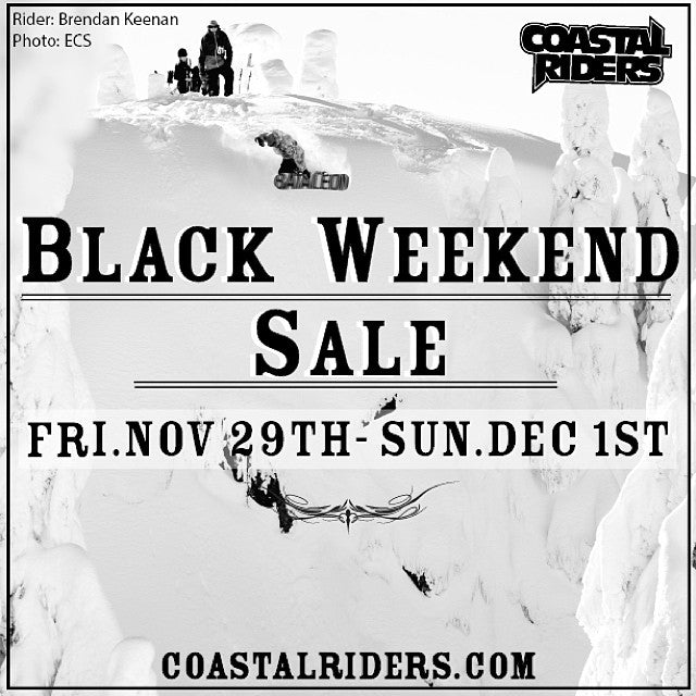 BLACK Weekend sale at CSTL. Forget the hassle at the border. Everything in store is on sale. EVERYTHING!!