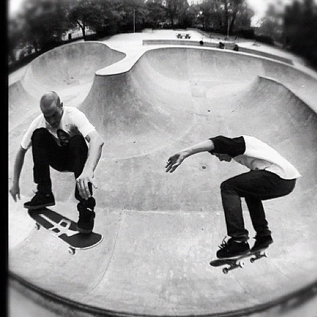 #tbt to this #doubles run of @magnushanson and @johnhanlon604 in the railside bowl. Shot by @paulmachnau. @thereddragons ️ @timebombtrading