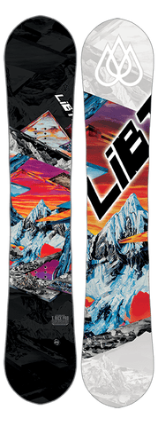 LIB TECH MENS T-RICE HP SNOWBOARD 2017