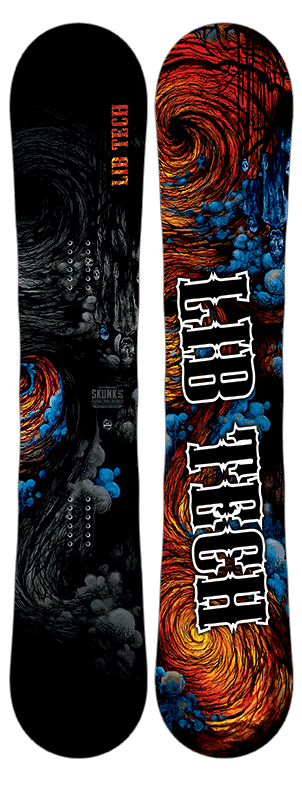 LIB TECH MENS SKUNK APE HP SNOWBOARD 2017