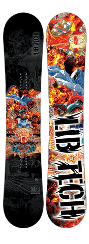 LIB TECH MENS TRS HP SNOWBOARD 2017