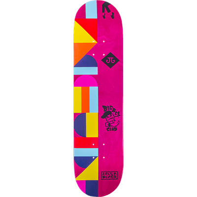 GIRL LA8 X ART DUMP BIEBEL SKATEBOARD DECK 8
