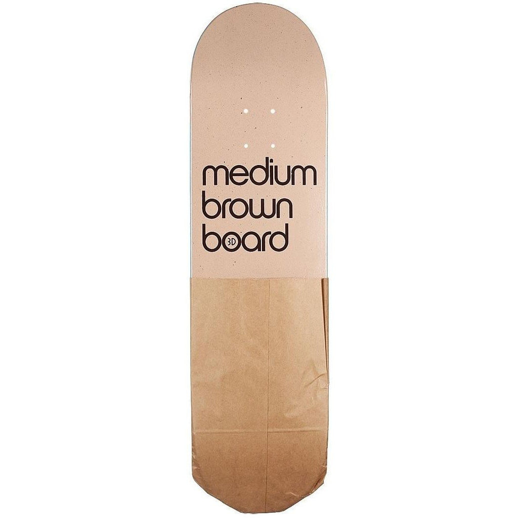 3D MEDIUM BROWN BOARD DECK - Coastal Riders
