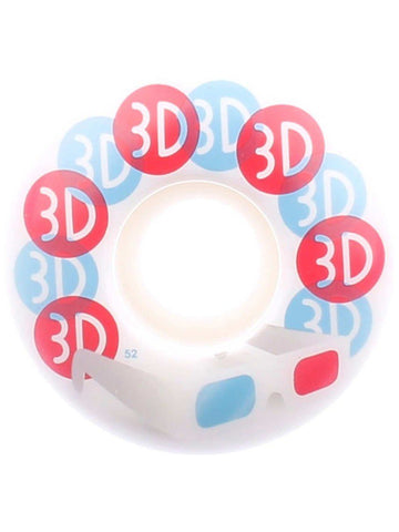 3D GLASSES WHEELS 52MM
