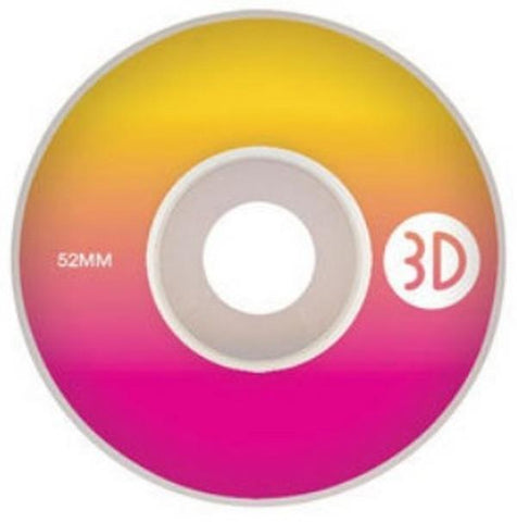 3D LOGO GRADIENT WHEELS