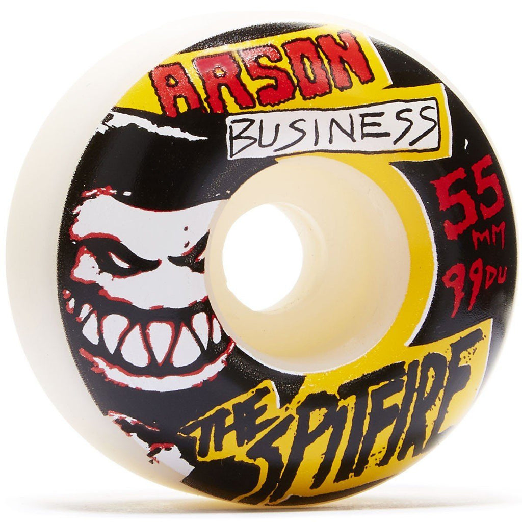 SPITFIRE ARSON BUSINESS WHEELS 55