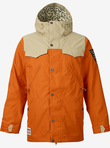 BURTON MENS FOLSOM SNOW JACKET 2016