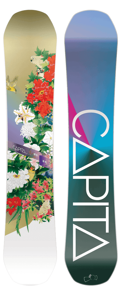 CAPITA WMNS BIRDS OF A FEATHER SNOWBOARD 2017