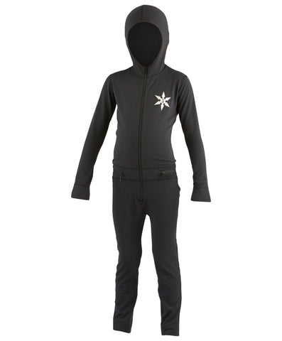 AIRBLASTER YOUTH NINJA SUIT BLACK