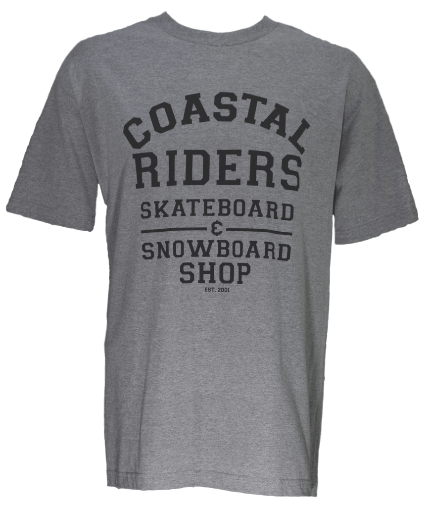 CSTL MEN'S COLLEGIATE TEE - Coastal Riders