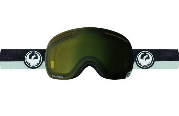 DRAGON X1 FLUX GREY-TRANSITION YELLOW LENS SNOW GOGGLES 2017