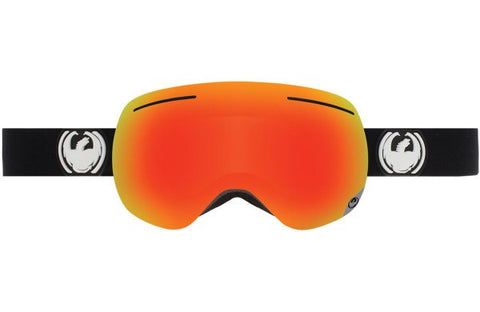 DRAGON X1 INVERSE-RED ION+YLW BLU ION LENSES SNOW GOGGLES 2017