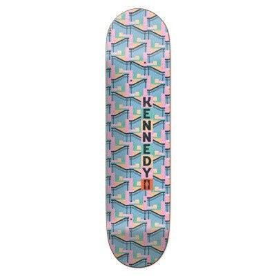 GIRL LA8 X ART DUMP KENNEDY SKATEBOARD DECK 8