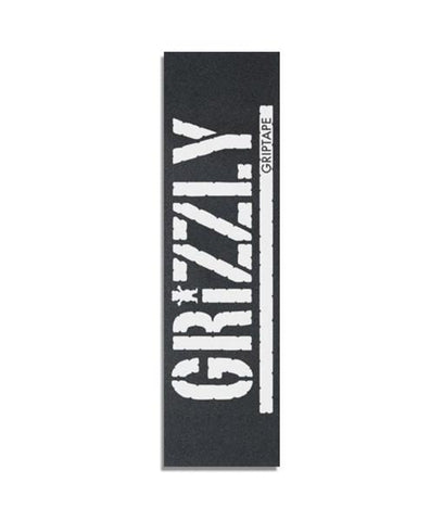 GRIZZLY OVERSIZED WHITE STAMP GRIP SHEET