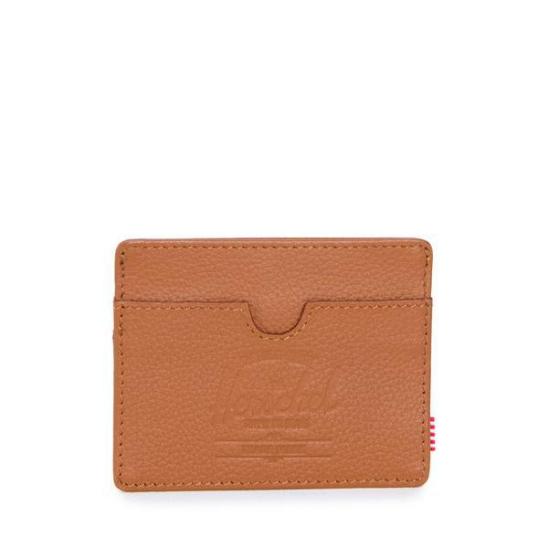 HERSCHEL CHARLIE LEATHER WALLET TAN - Coastal Riders