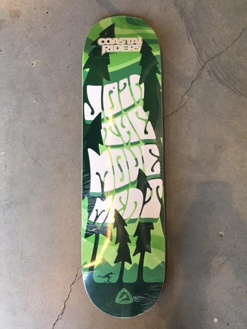 COASTAL RIDERS X PROTEST MOVEMENT DECK 8.0, 8.25