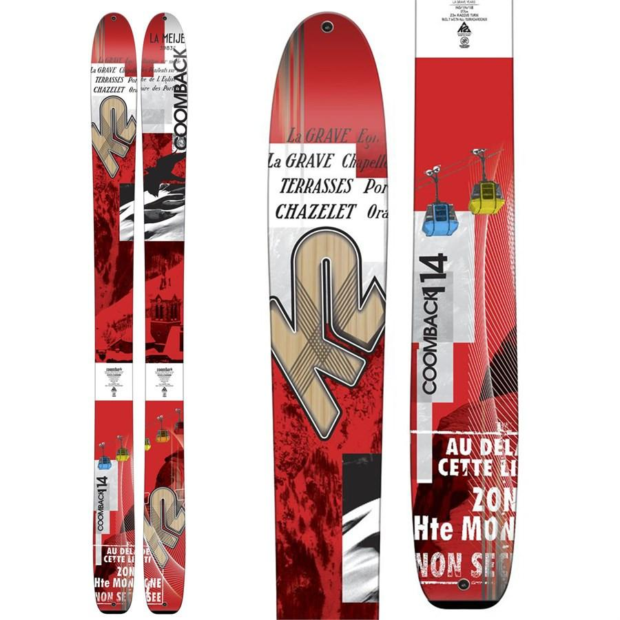 K2 MENS COOMBACK SKIS 2016