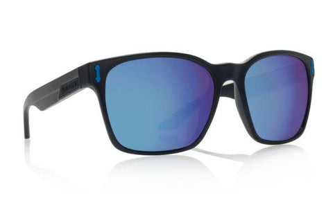 DRAGON H2O LIEGE MATTE BLACK FRAME WITH BLUE ION POLARIZED LENS SUNGLASSES