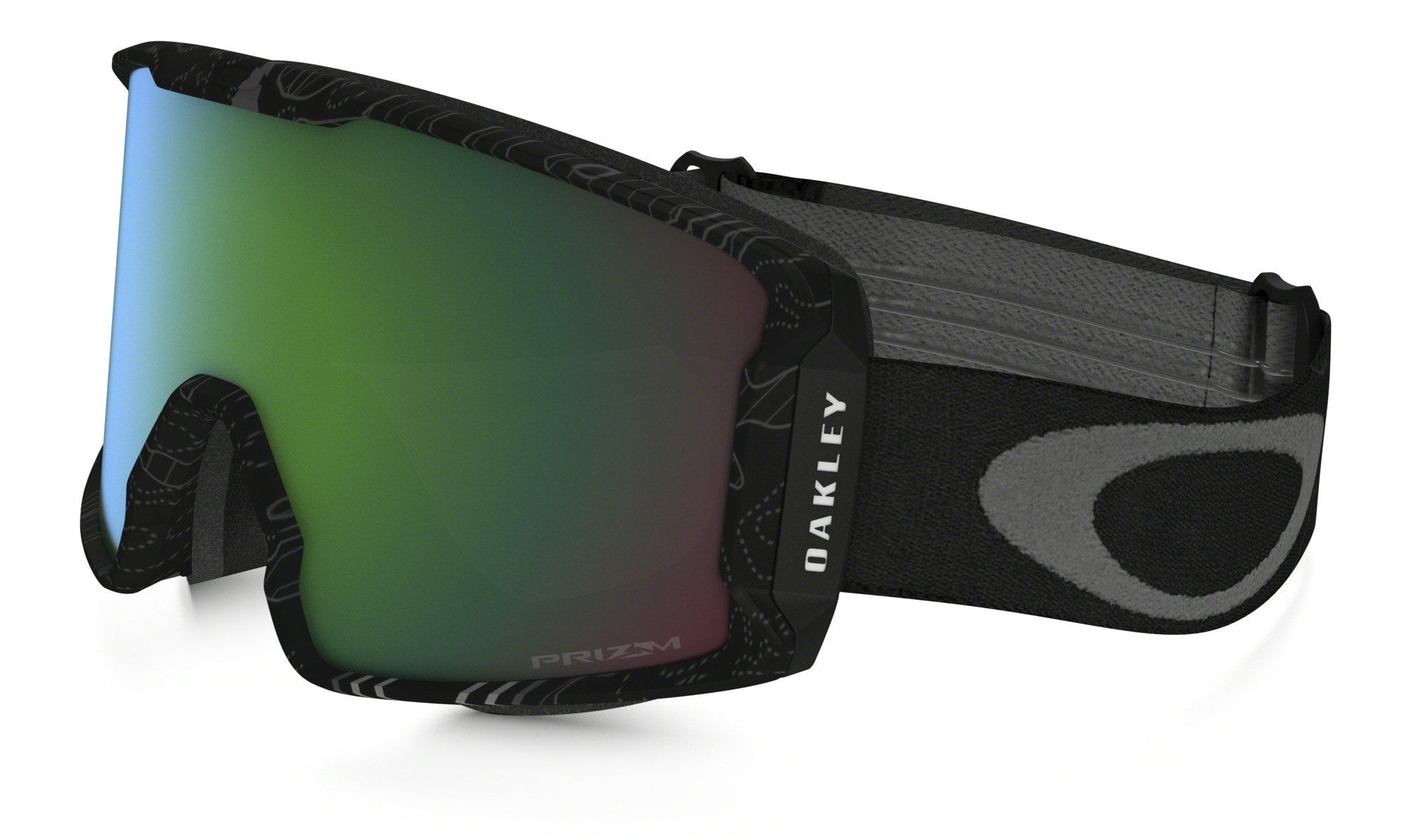 military discount for oakley 6nbf  OAKLEY LINE MINER MILITARY RECON STEALTH FRAME WITH PRIZM JADE IRIDIUM LENS  SNOW GOGGLES 2017