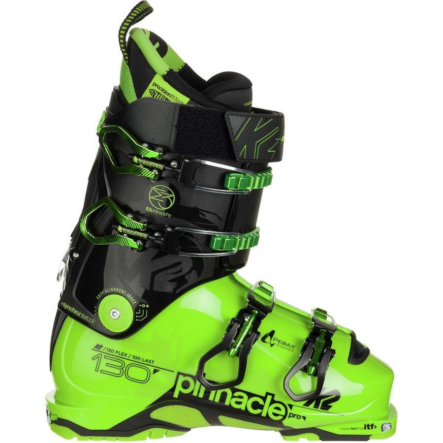 K2 MENS PINNACLE PRO SKI BOOTS 2017