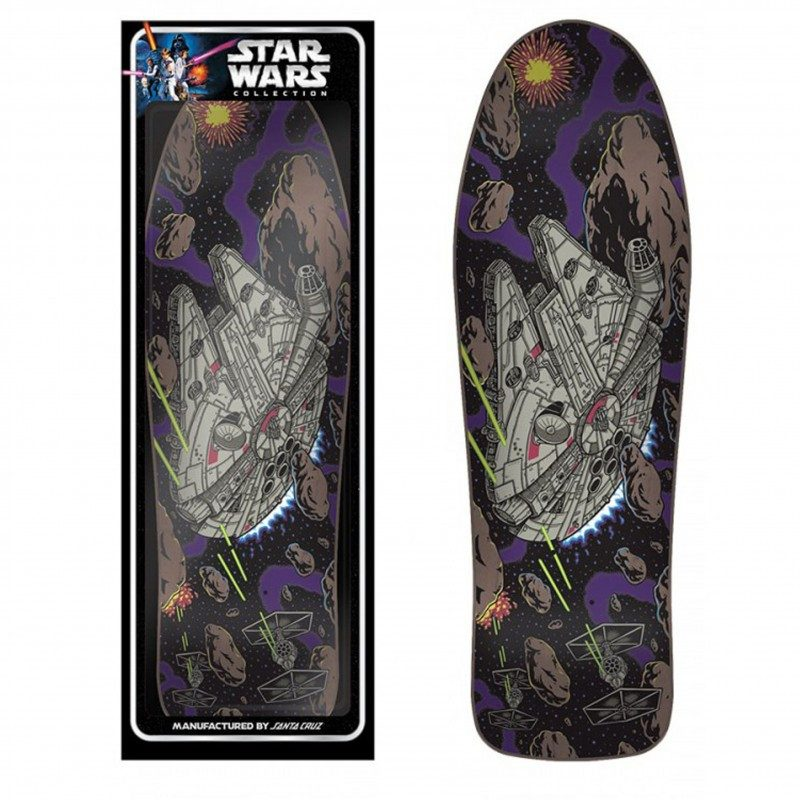 SANTA CRUZ STAR WARS COLLECTOR FALCON DECK 31.275X10.07