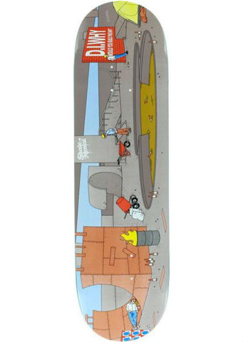 SKATE MENTAL D.I. WHY? SKATEBOARD DECK 8.625
