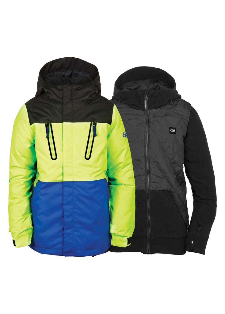 686 BOYS SMARTY MERGE SNOW JACKET 2017
