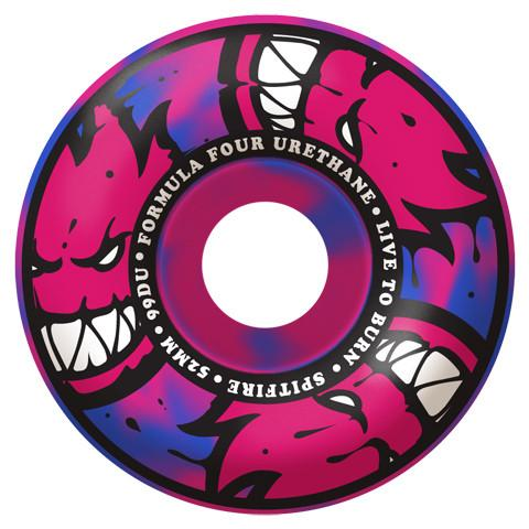 SPITFIRE FORMULA FOUR 99D AFTERBURNERS SWIRL CLASSIC WHEELS