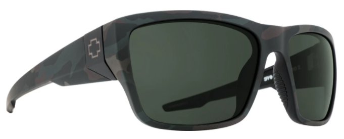 SPY DIRTY MO 2 MATTE CAMO FRAME WITH HD PLUS GRAY GREEN POLAR SUNGLASSES