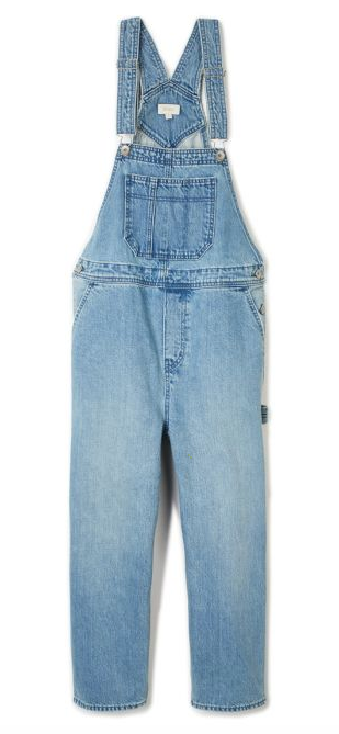 Brixton Women's Christina Crop Overall Pants
