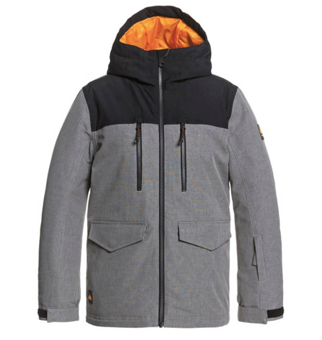 Quiksilver Boy's Fairbanks Snow Jacket 2021