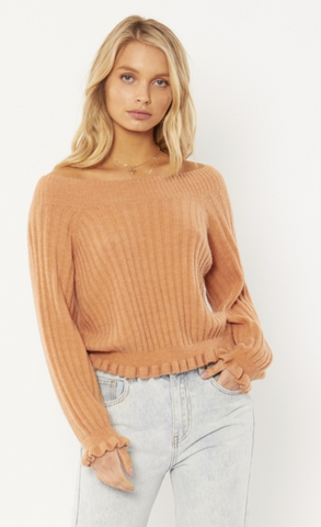 Amuse Women's Sija L/S Knit Sweater