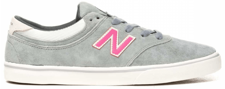 NEW BALANCE MENS QUINCY 254 PINK SUEDE SHOES