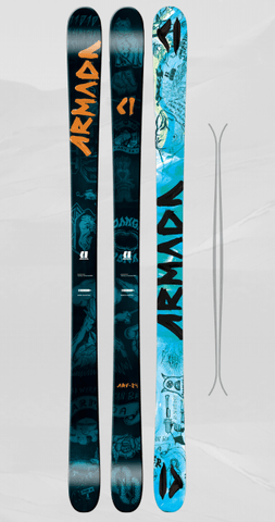 ARMADA JUNIOR BOYS ARV 84 SKIS 2017