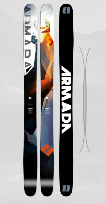 ARMADA MENS JJ 2.0 SKIS 2017