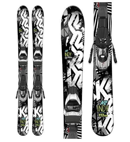 K2 JUNIOR BOYS INDY SKIS 2017