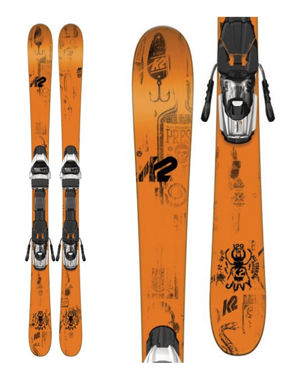 K2 JUNIOR BOYS JUVY SKIS 2017