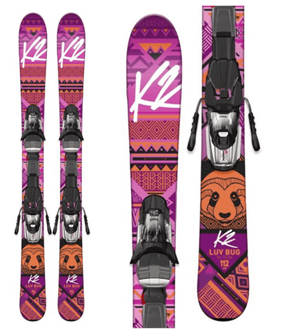 K2 JUNIOR GIRLS LUVBUG SKIS 2017