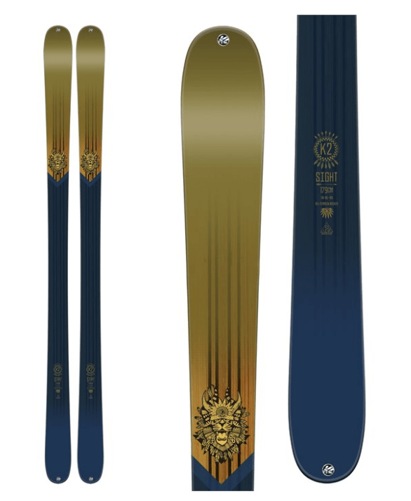K2 MENS SIGHT SKIS 2017