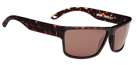 SPY ROCKY MATTE CAMO TORT FRAME WITH HAPPY BRONZE LENS SUNGLASSES