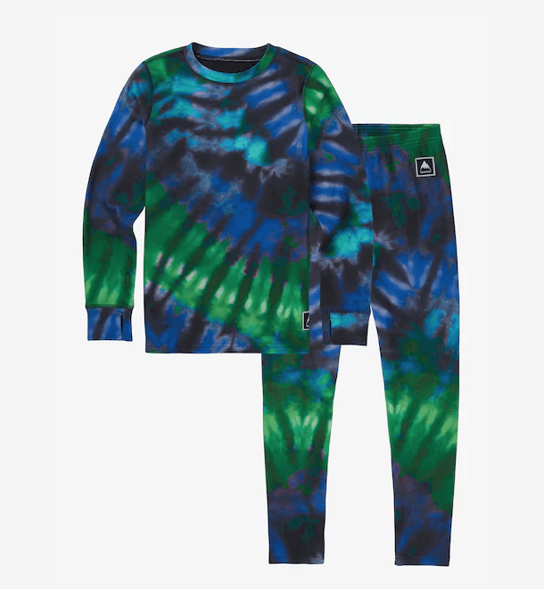 BURTON YOUTH FLEECE BASE LAYER SET 2018