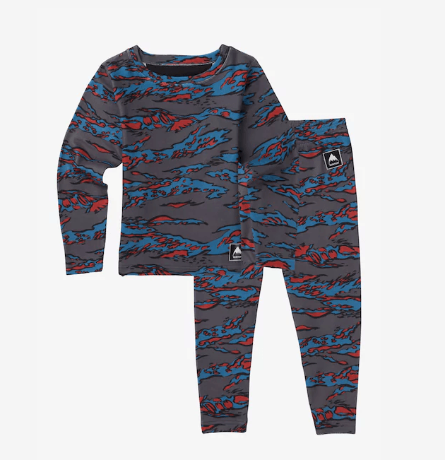 BURTON MINI FLEECE BASE LAYER SET 2018