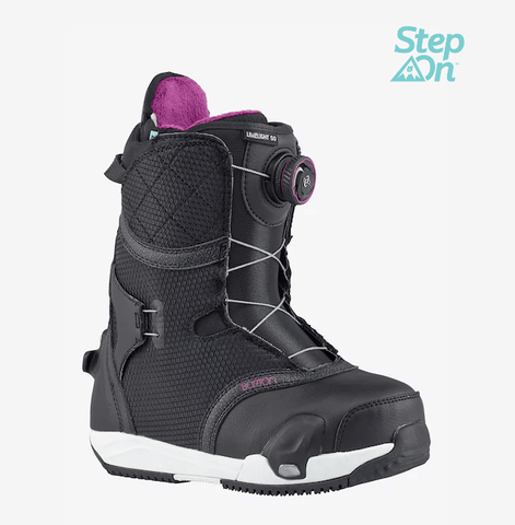 BURTON WOMENS LIMELIGHT STEP ON SNOWBOARD BOOTS 2018