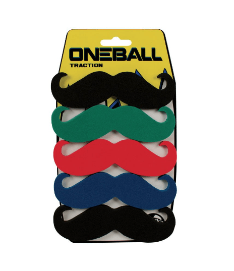 ONEBALL 5 PACK MUSTACHE STOMP PAD