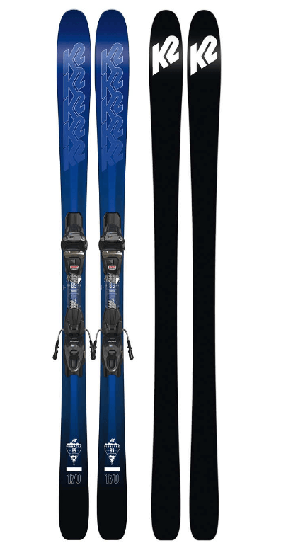 K2 MENS PINNACLE 85 RX SKIS WITH MARKER TEN BINDINGS 2018
